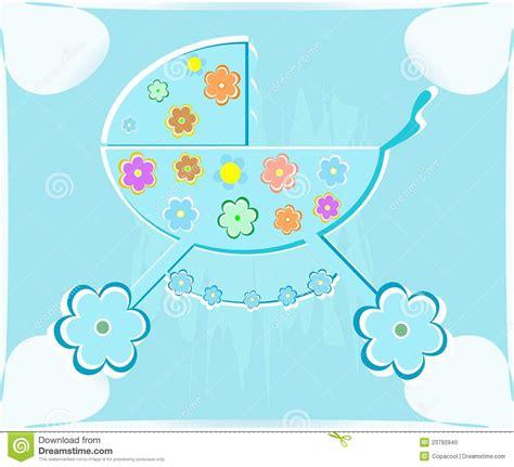 luzdary imagenes en un baby shower tarjeta vector para el babyshower cochecito de ni 241 o