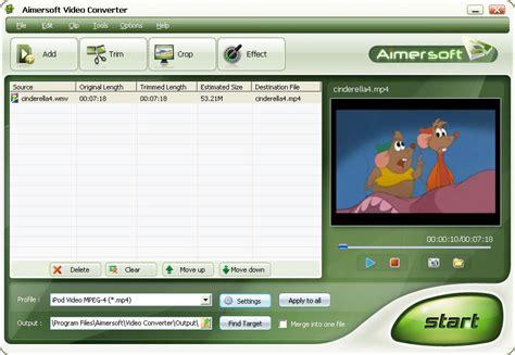 converter software aimersoft video converter best video converter software