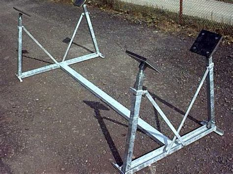 boat cradle under cover yacht and boat cradle tennamast cradles
