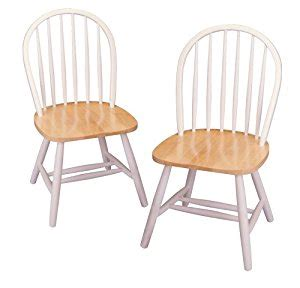 White Kitchen Chair by Winsome Wood Chair In And