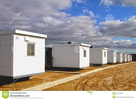 Temporary Housing by Temporary Housing Royalty Free Stock Images Image 34744079