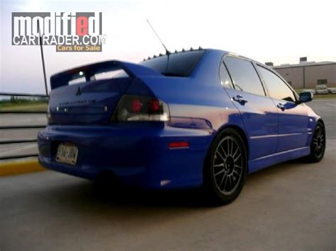 mitsubishi killeen 2003 mitsubishi lancer evo gsr for sale killeen