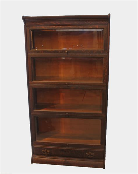 antique corner bookcase bargain s antiques 187 archive antique corner oak bookcase a great unit made by gunn