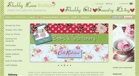 shabby chic ecommerce website barnstaple enterprise web