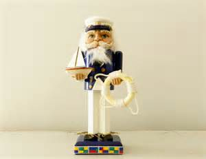 vintage nutcracker sailor sea captain navy by modrendition