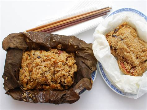 dim sum classics how to make sticky rice wrapped in lotus