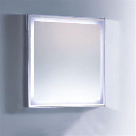 vanity lighted mirror wall mount bathroom makeup mirror fab glass and mirror modern bathroom led lighted wall