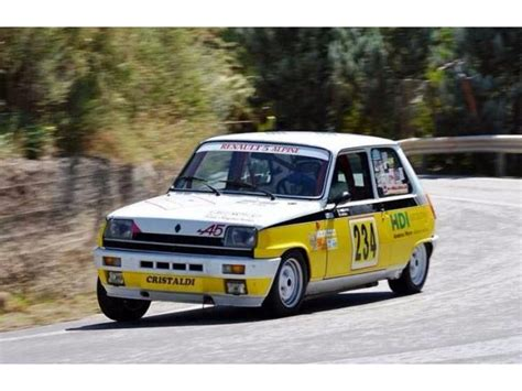renault race cars renault 5 alpine race cars for sale racemarket