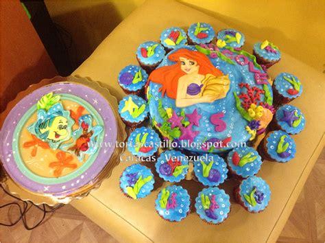 como decorar un pastel de la sirenita ariel imagenes de tortas de la sirenita ariel imagui