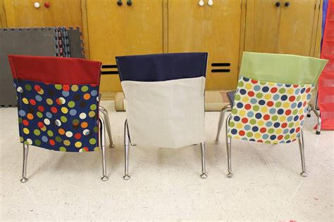 school chair back covers pattern
