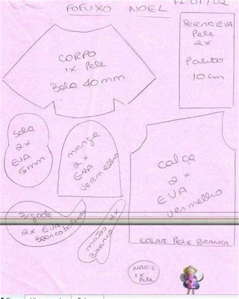 fofucha mafalda con molde de la web foro gratis el santa claus en goma eva con moldes fofucho patrones de