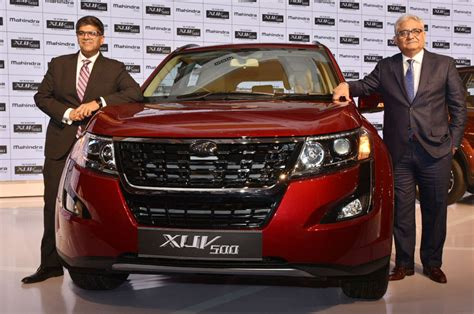 mahindra xuv facelift launched  rs  lakh autocar india