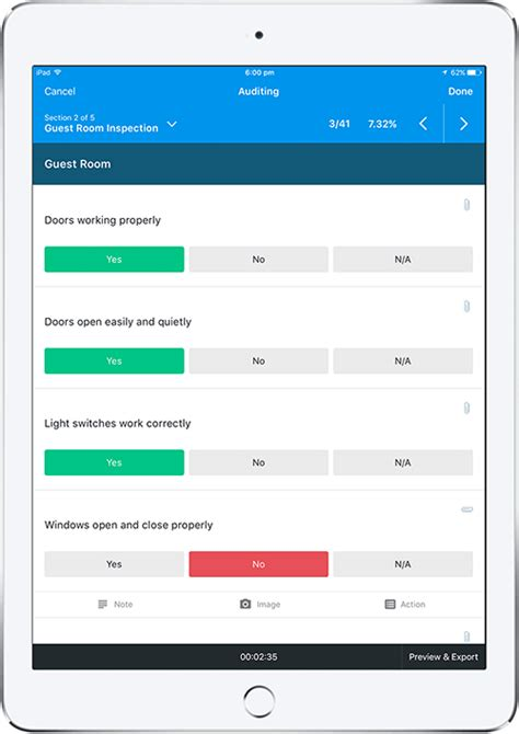 Iauditor Easy Safety Inspection Checklist App Iauditor Excel Template