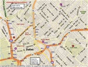 map for dallas dallas map map travel vacations