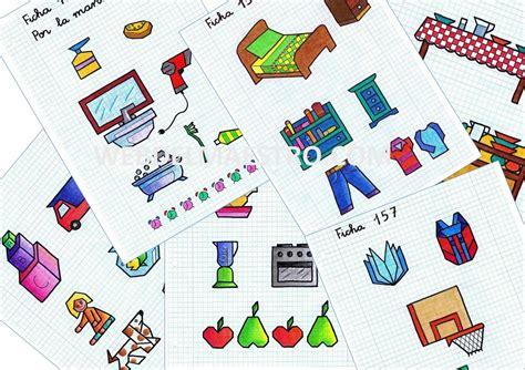 imagenes faciles para dibujar en cuadricula dibujos en cuadr 237 cula rutinas web del maestro