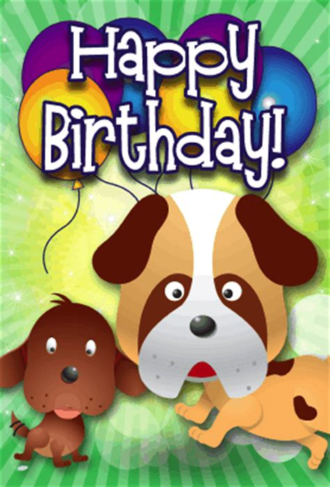 printable birthday cards dogs dogs birthday card