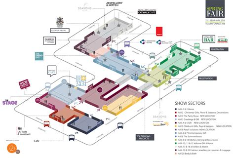 nec birmingham floor plan spring fair 2017 essential information bes blog