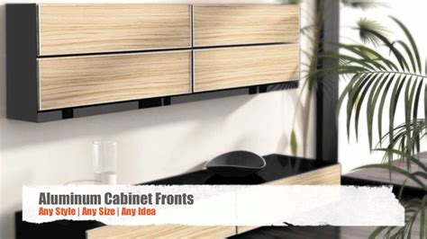 New Ideas For Kitchen Cabinets aluminum frame cabinet doors aluminum kitchen cabinet