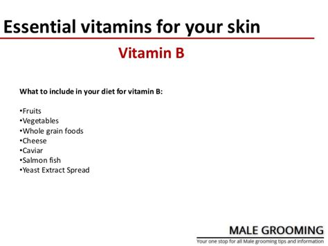 8 Essential Vitamins For by Essential Vitamins For Your Skin