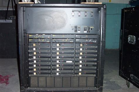 Dimmer Rack by Used Dimmer Rack By Electronic Theatre Controls Item 3100