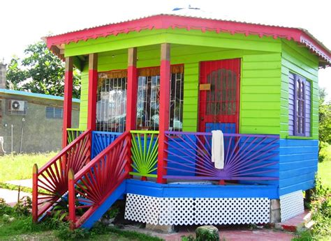 colorfu houses painting colorful caribbean houses www pixshark com images