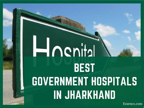 Top Mba Government College In Jharkhand by Top 6 Best Government Hospitals In Jharkhand Essencz