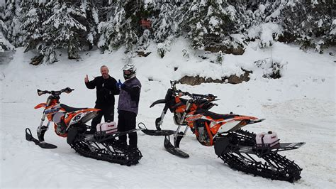 Ktm Sled Great Day On The Timbersled Ktm S Powerhouse Customs