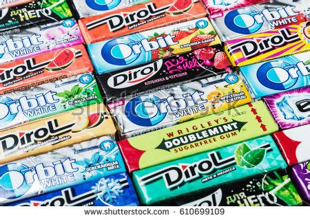 chewing gum brands dirol stock images royalty free images vectors
