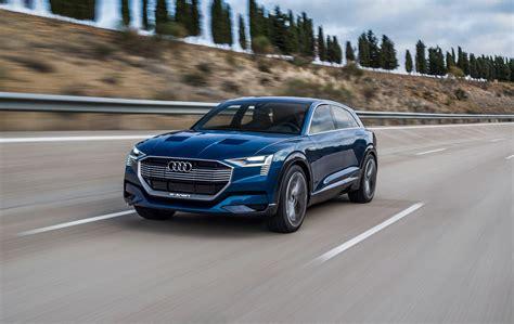 Audi E Tron by Audi Begins Production Of Electric E Tron Suv Car Magazine