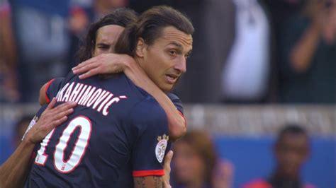 st goal zlatan ibrahimovic   psg ea guingamp