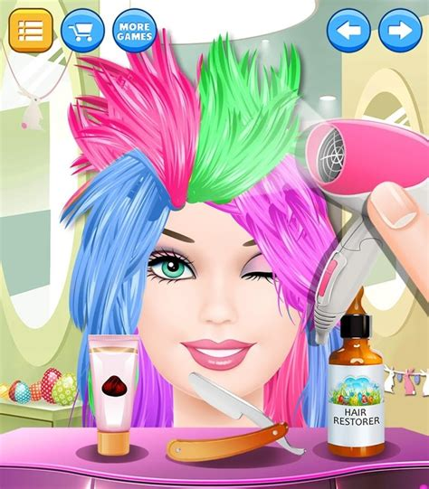 download hair spa videos fashion doll hair spa free android game download