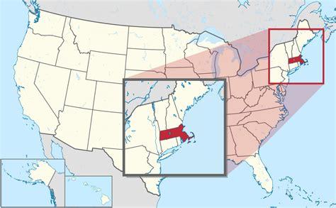america map massachusetts massachusetts
