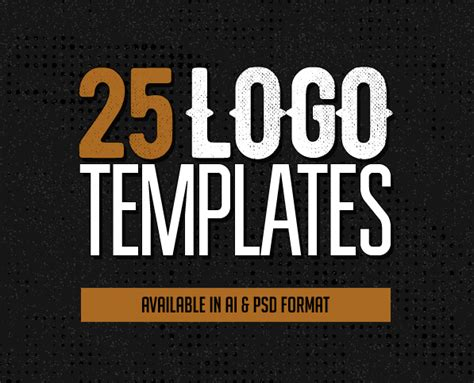 Logo Templates 25 Custom Logo Design Templates Logos Graphic Design Junction Customizable Logo Templates