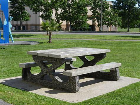 concrete picnic benches concrete picnic benches 28 images concrete picnic