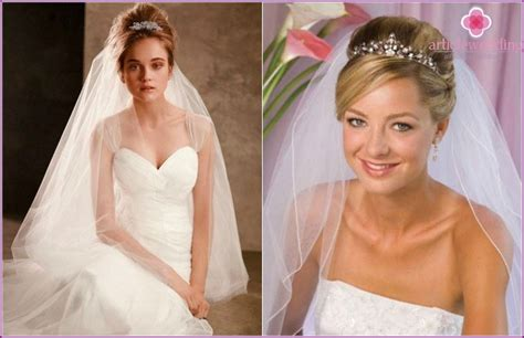 Wedding Hairstyles With Veil On Top by Wedding Hairstyles For Hair Veil And Tiara Bangs