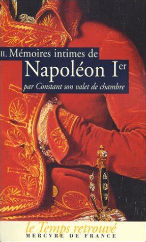 libro memoires secrets dun valet 33 libro vie de napol 233 on di stendhal
