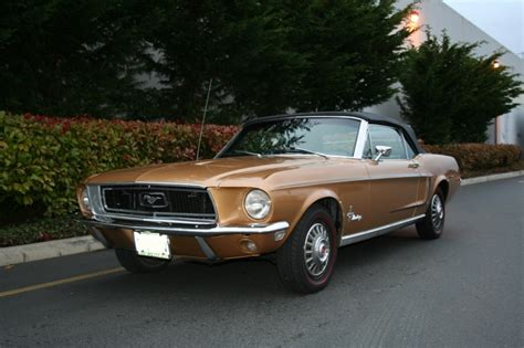 sunlit gold 1968 mustang paint cross reference