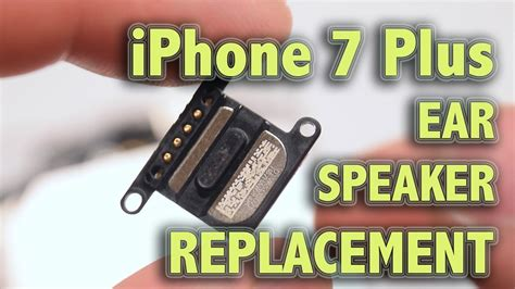 iphone   ear speaker replacement youtube