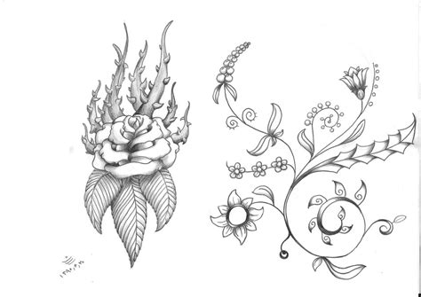 tattoo flash art roses flash by sasan ghods on deviantart