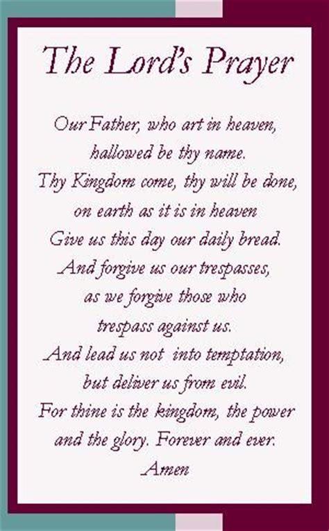 Printable Version Of Lord S Prayer | 12 step the 12 steps pinterest lord s prayer prayer