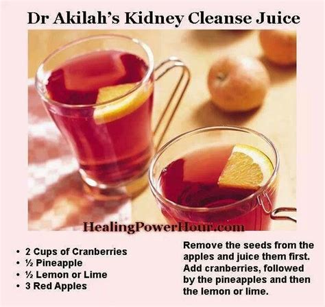 Kidney Detox Lemon Juice by Kidney Cleanse Nature S Pharmacy