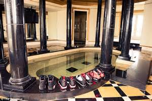 rick ross shows closets and air jordans in