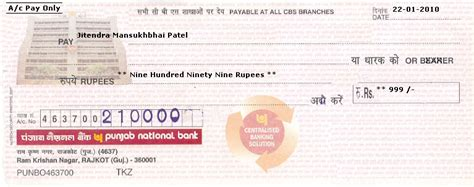 Punjab National Bank Letter Of Credit Format Practical How To Write A Check 183 Engvid