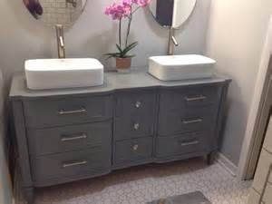 the best dresser turned sink hacks through the front door