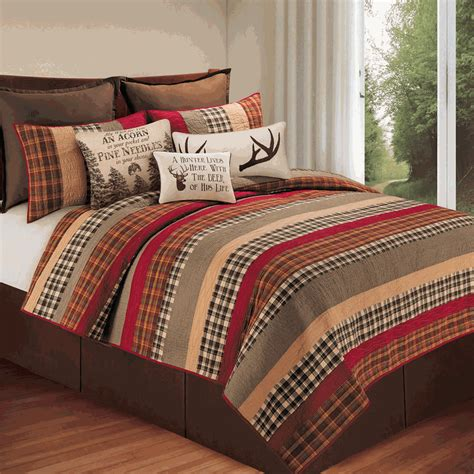 cabin bedspreads and comforters cabin retreat quilt bedding collection