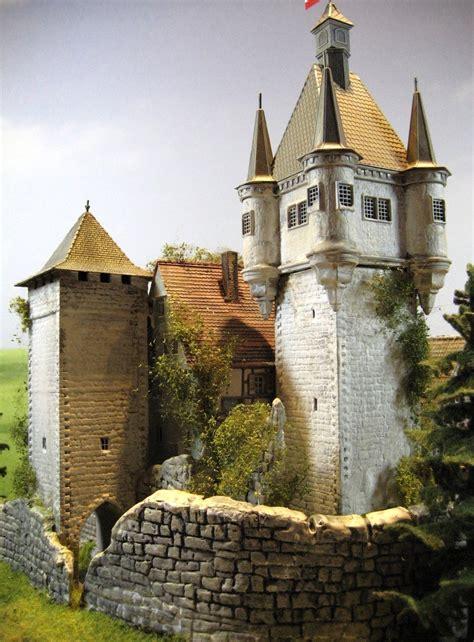 burg schloss festung diorama burg wehrfried
