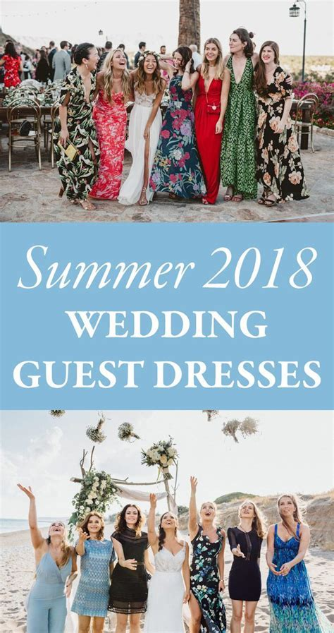 What to Wear to a Summer Wedding   2018 Summer Wedding