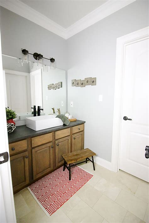 kids bathroom makeover kids bathroom sink makeover bower power bloglovin