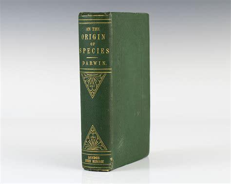 Origin Original Origin Of Species Edition Charles Darwin Signed