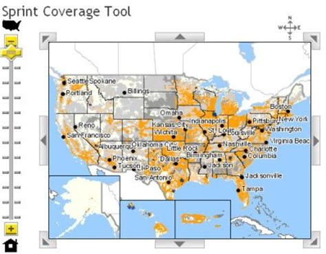 sprint 4g map 4g network map images